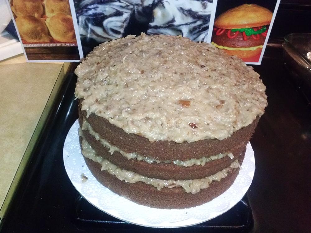 Pound Cake Mixing Method